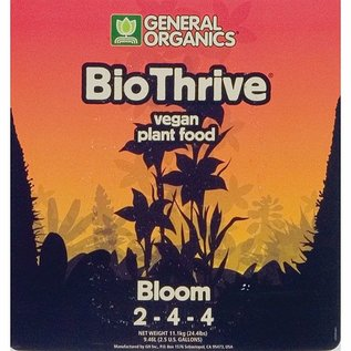 General Organics General Organics BioThrive Bloom 2.5 gal