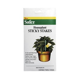 Safer Safer Brand Houseplant Sticky Stakes, 7 Pack
