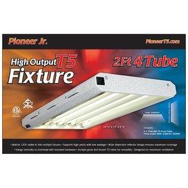 Pioneer Pioneer Jr. 2' x 4 Tube T5 Fixture with Grow Tubes
