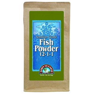Down To Earth Down To Earth Fish Powder - 1 lb