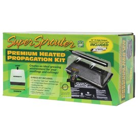 Super Sprouter Super Sprouter Premium Heated Propagation Kit w/ T5 Light