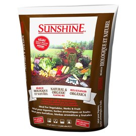 Sunshine SunGro Sunshine Organic Planting Mix, 1.5 cu ft