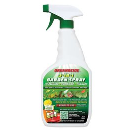 Organicide Organocide 3-in-1 Garden Spray RTU, 24 oz