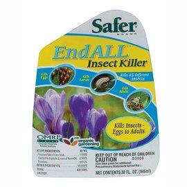 Safer Safer EndALL Insect Killer RTU Quart (6/Cs)