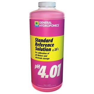 General Hydroponics GH pH Calibration 4.01 Solution, qt