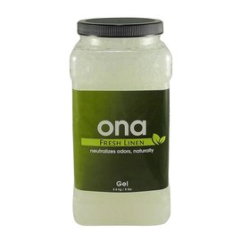Ona Odor Gel Fresh Linen Jar 4