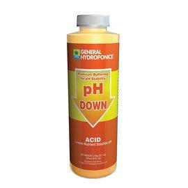 General Hydroponics GH pH Down, 8 oz