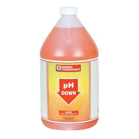 General Hydroponics GH pH Down, gal