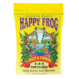 Fox Farm FoxFarm Happy Frog Fruit and Flower, 4 lb