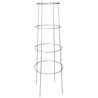Growers Edge Grower's Edge High Stakes Commercial Grade Inverted Tomato Cage - 4 Ring - 62 in