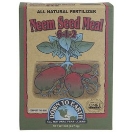 Down To Earth Down To Earth™ Neem Seed Meal 6 - 1 - 2 5 Lb