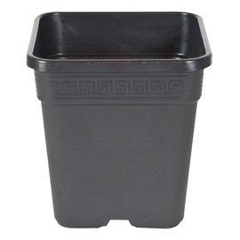 Gro Pro Gro Pro Black Square Pot 9 x 9 x 9.5, 2 Gallon