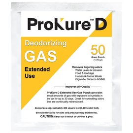 ProKure ProKure D Extended Use Deodorizer 4,000 cu ft, 50 g