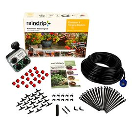 Raindrip Raindrip Automatic Watering Kit for Container and Hanging Baskets