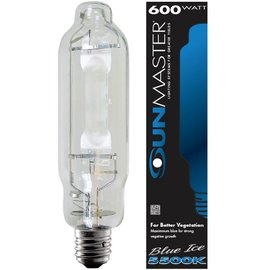Sunmaster SUNMASTER Blue Ice HPS Conversion U Lamp, 600W, U25