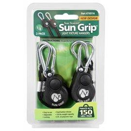 Sun Grip Sun Grip® Push Button Light Hangers 1/8 in - Black