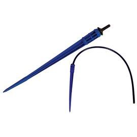 Hydro Flow Dripper Stake w/ Basket - Blue