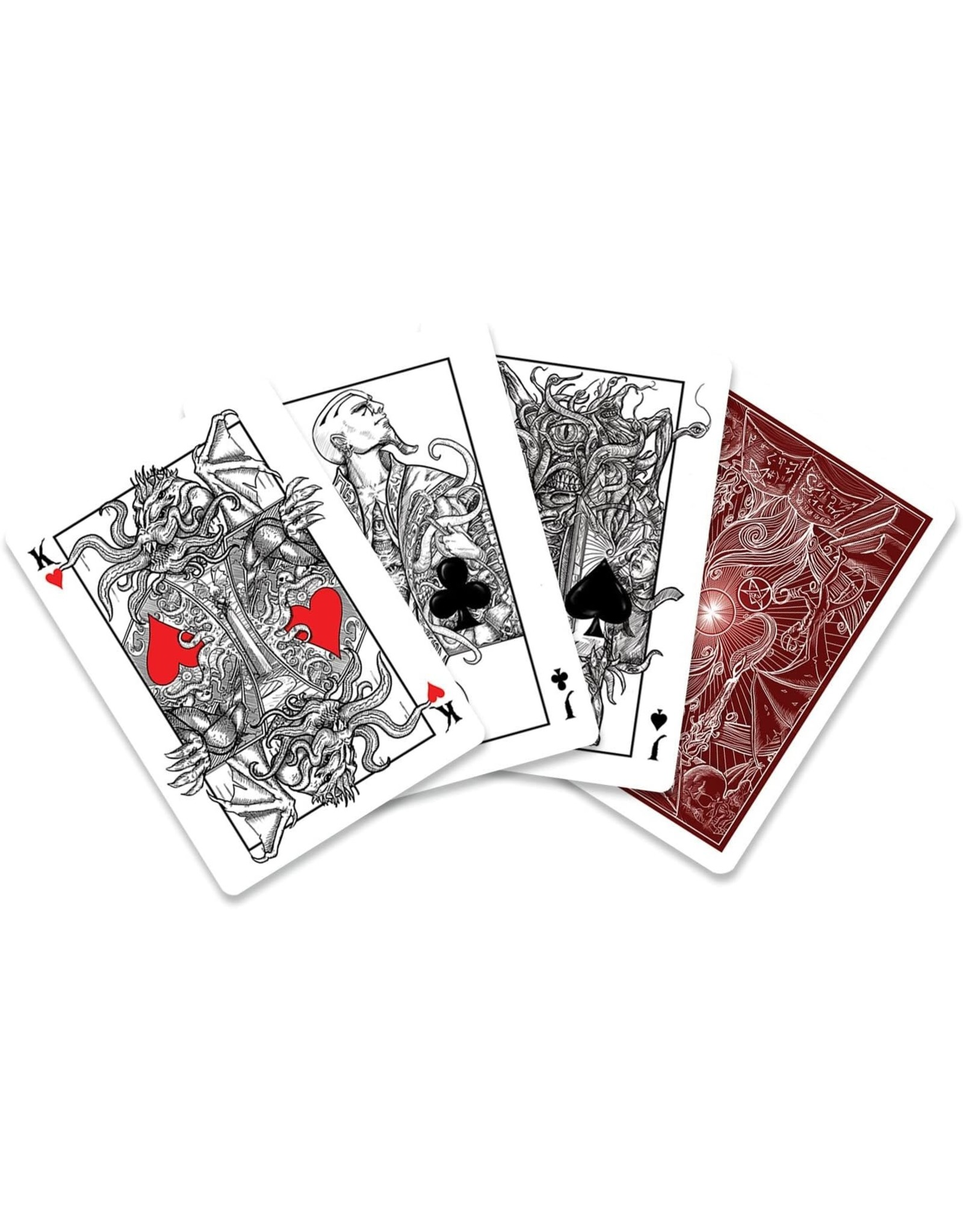 Albino Dragon Playing Cards: Call of Cthulhu Playing Cards