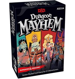 Wizards of the Coast D&D Dungeon Mayhem Card Game single