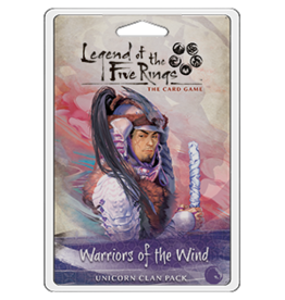 Fantasy Flight Games Legend of the Five Rings LCG: Warriors of the Wind - Unicorn Clan Pack