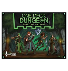 Asmadi Games One Deck Dungeon: Forest of Shadows