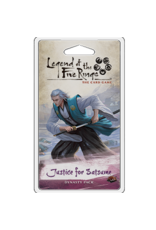 Fantasy Flight Games Legend of the Five Rings LCG: Justice for Satsume Dynasty Pack