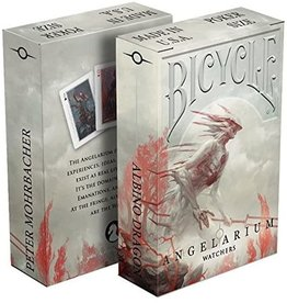 Albino Dragon Playing Cards: Angelarium- Watchers