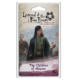 Fantasy Flight Games Legend of the Five Rings LCG: The Children of Heaven Dynasty Pack