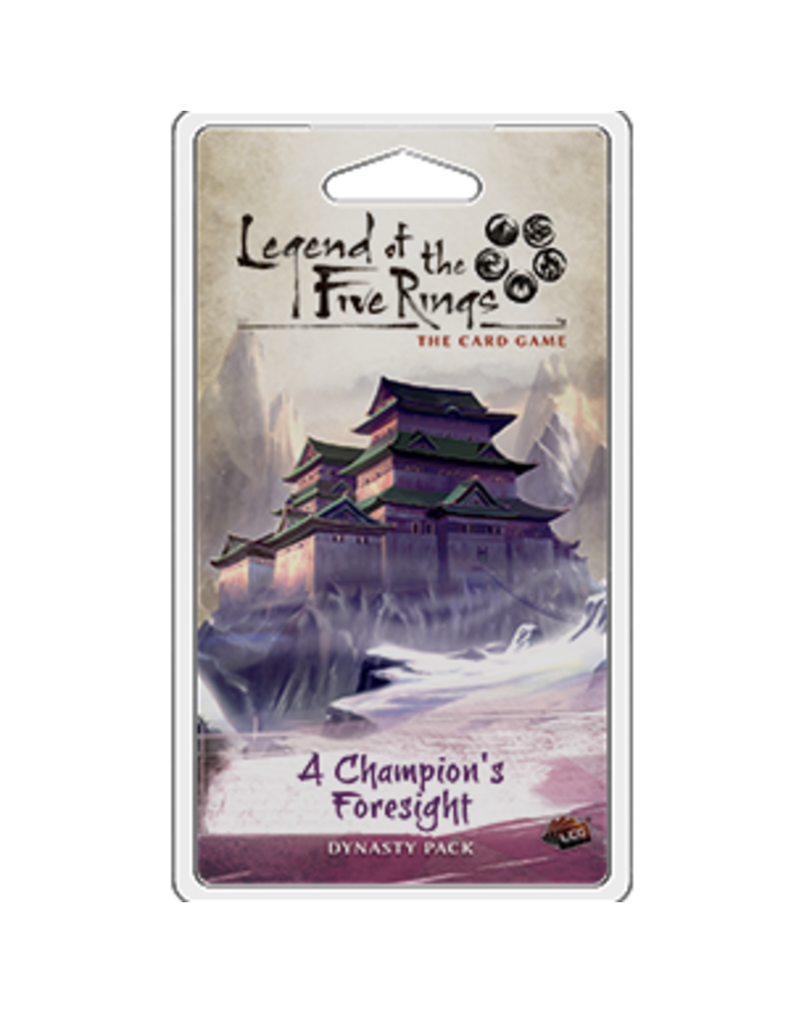 Fantasy Flight Games Legend of the Five Rings LCG: A Champion's Foresight Dynasty Pack