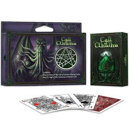 Albino Dragon Playing Cards: Cthulhu Gift set