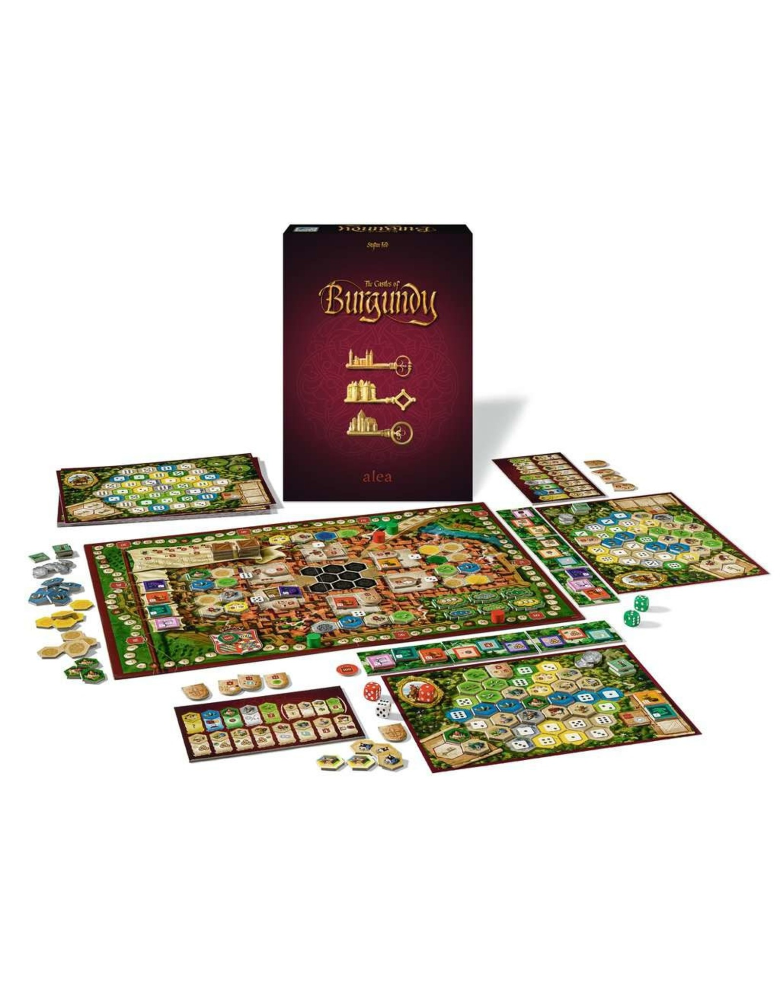 Ravensburger The Castles of Burgundy 20th Anniversary Edition