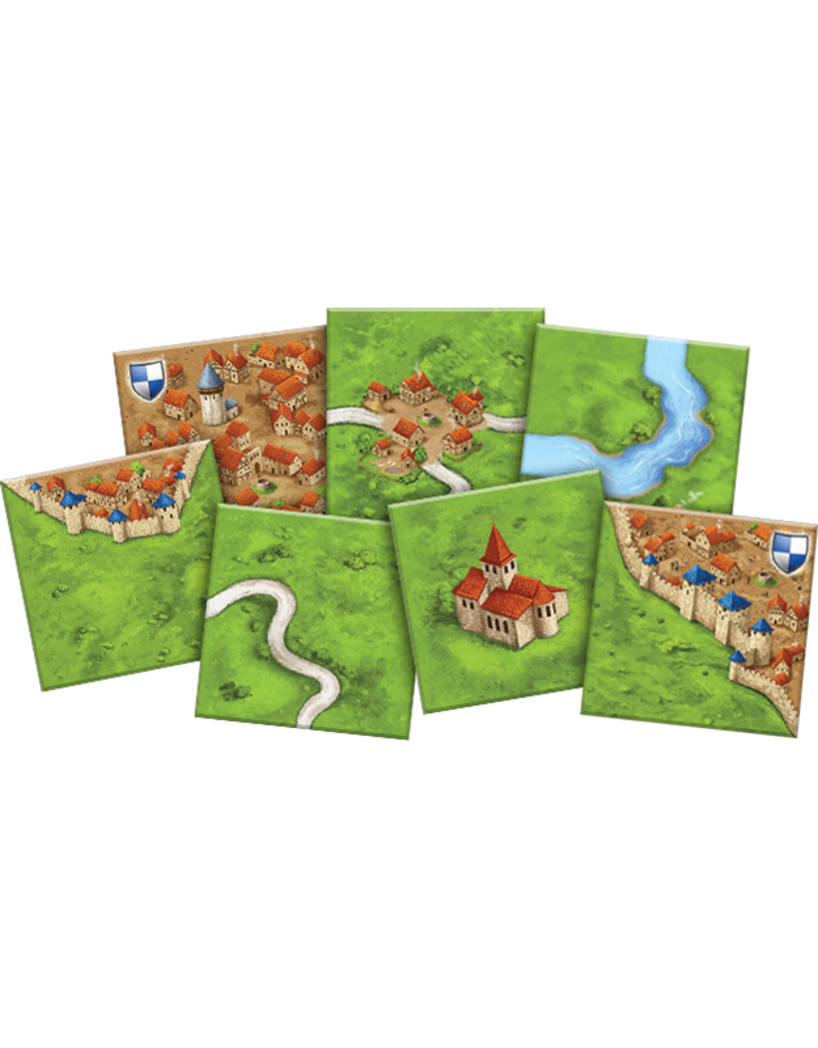 Z-Man Games Carcassonne: Basic Game