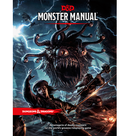 Wizards of the Coast D&D 5th Edition: Monster Manual