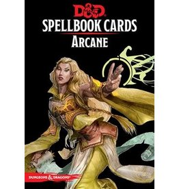 GaleForce Nine D&D 5th Edition: Spellbook Cards: Arcane
