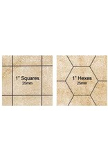 Chessex CHX Reversible Megamat 1inch sq/hex