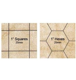 Chessex CHX Reversible Megamat 1inch sq/hex
