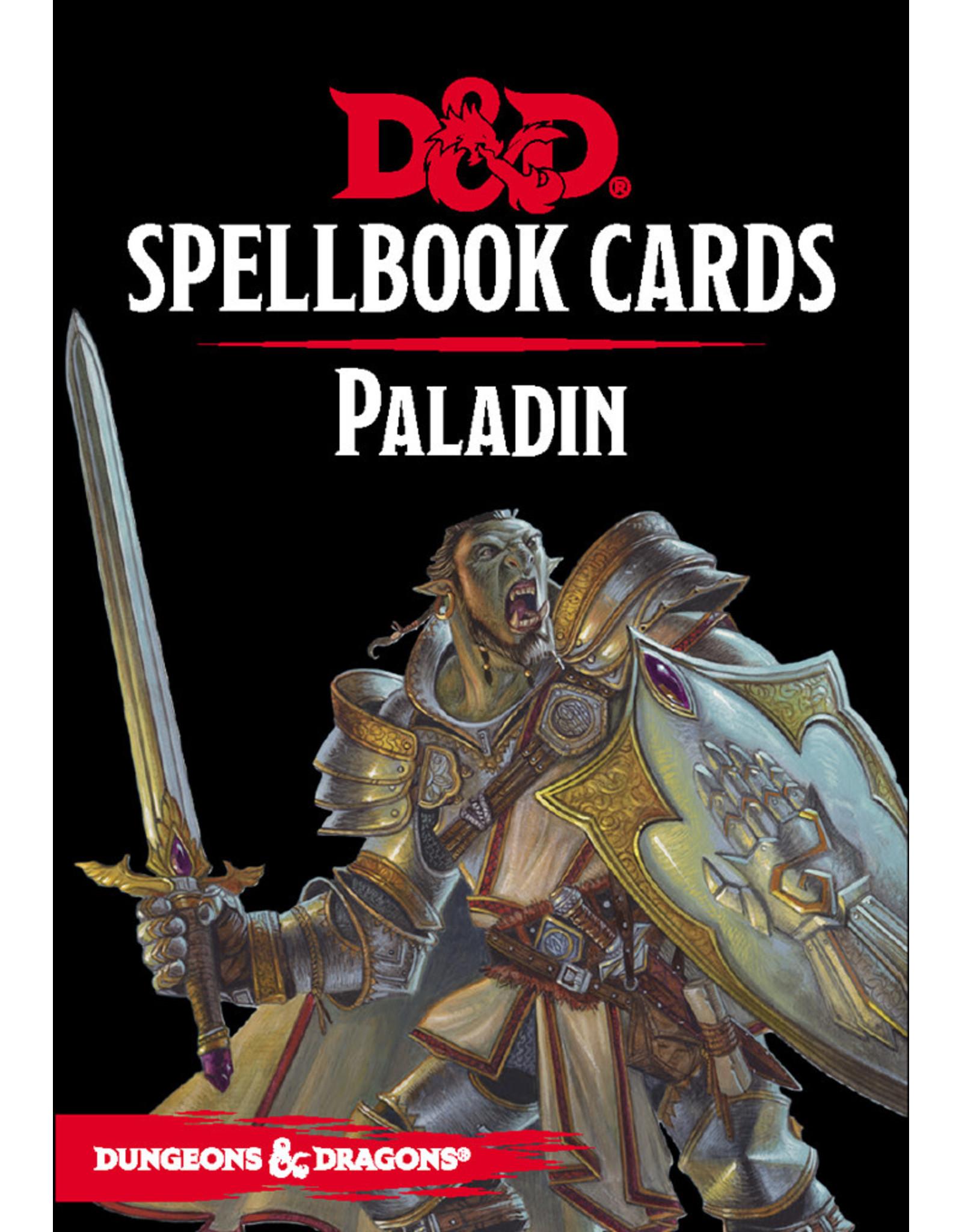 GaleForce Nine D&D 5th Edition: Spellbook Cards: Paladin