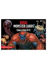 GaleForce Nine D&D 5th Edition: Monster Cards - Challenge 0-5 Deck