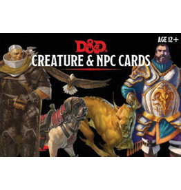 GaleForce Nine D&D 5th Edition: Creatures & NPC Cards (182 cards)