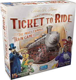 Days of Wonder Ticket To Ride: 15th Anniversary Edition