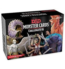 GaleForce Nine D&D 5th Edition: Monster Cards - Challenge 6-16 Deck