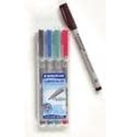 Chessex Water Soluble Markers set of 4