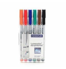 Chessex Water Soluble Markers set of 6