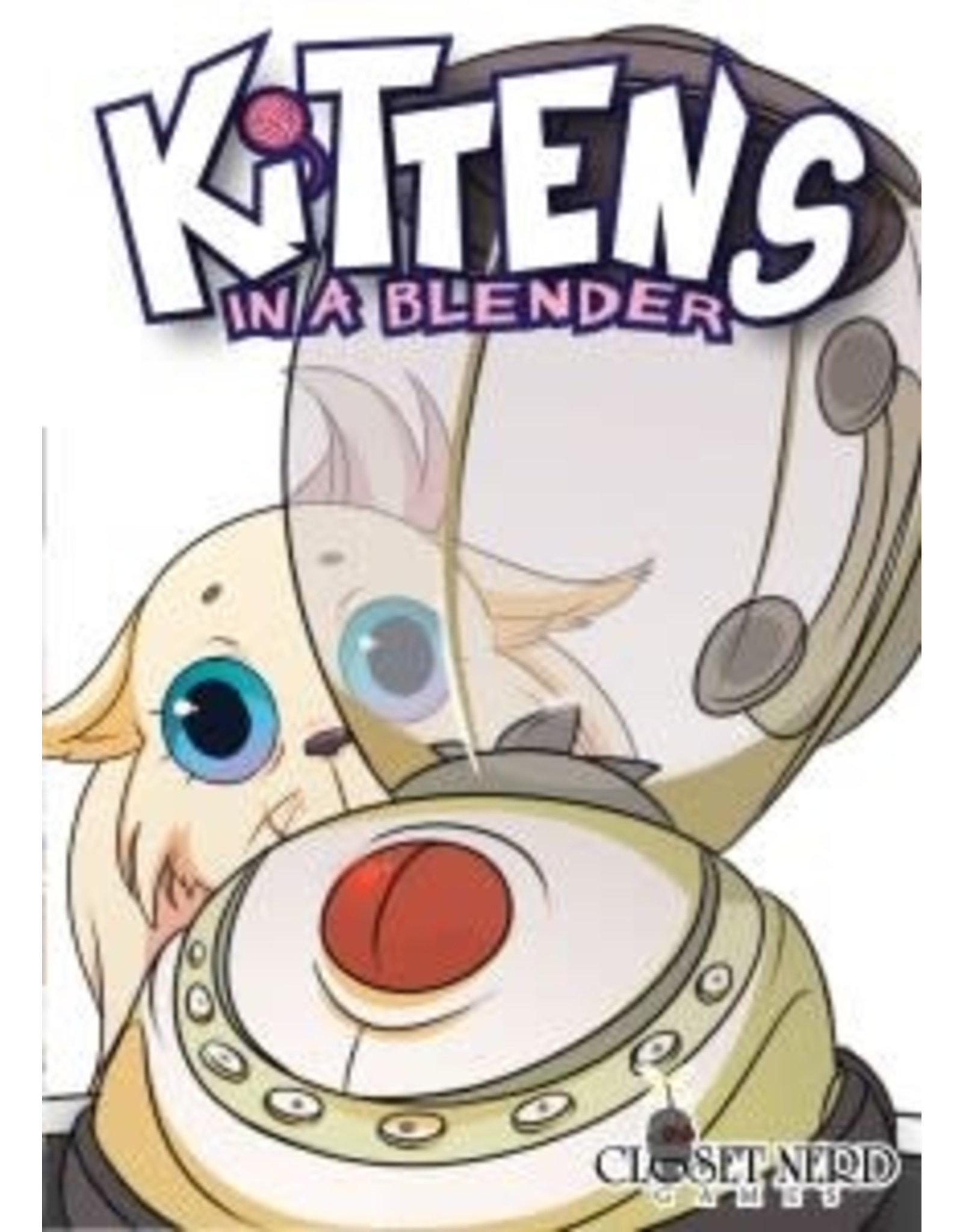 Closet Nerd Kittens in a Blender