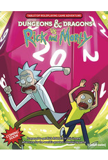 Wizards of the Coast D&D vs Rick and Morty Tabletop RPG