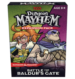 Wizards of the Coast D&D Dungeon Mayhem: Battle for Baldur's Gate single