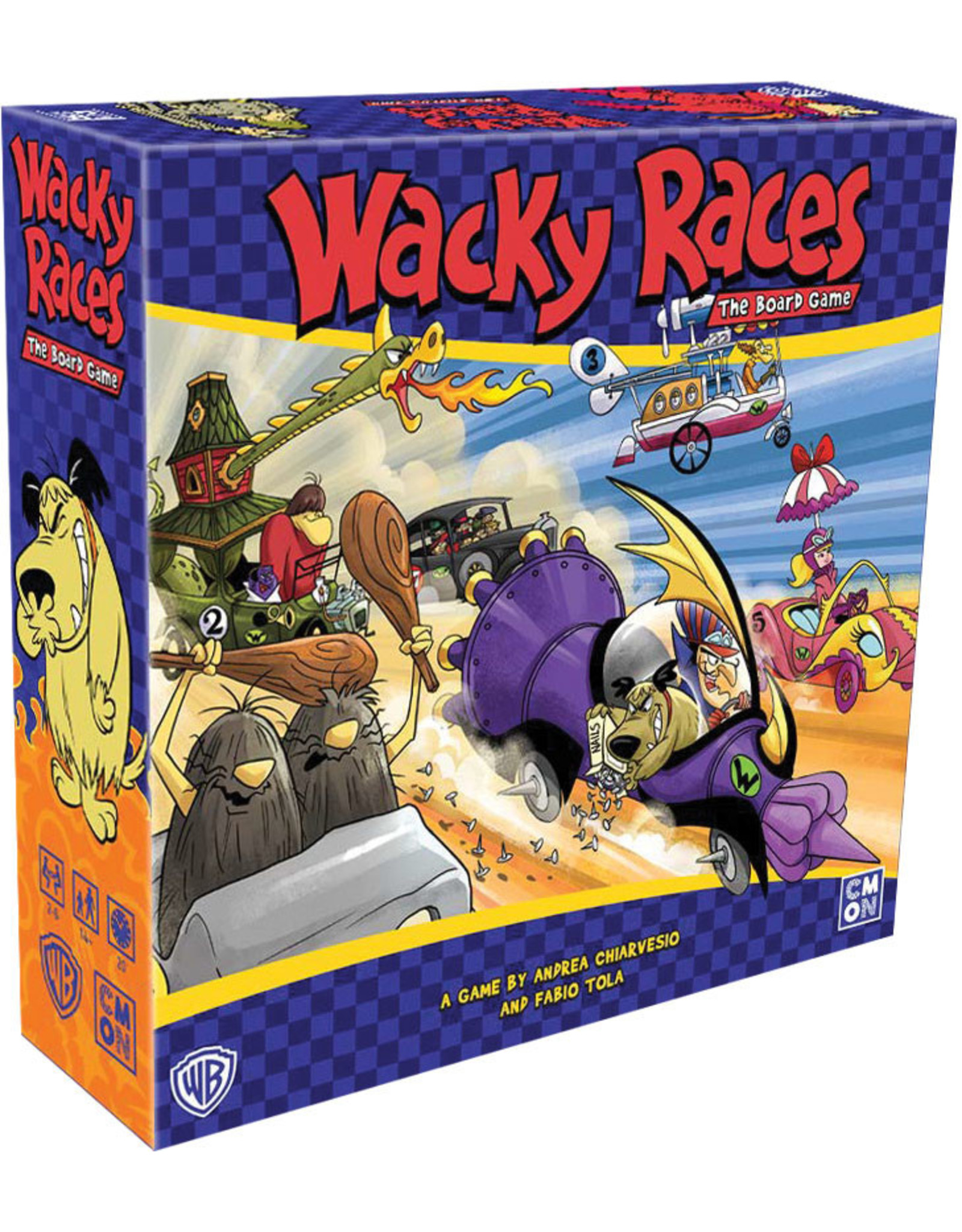 Cool Mini or Not Wacky Races: The Board Game