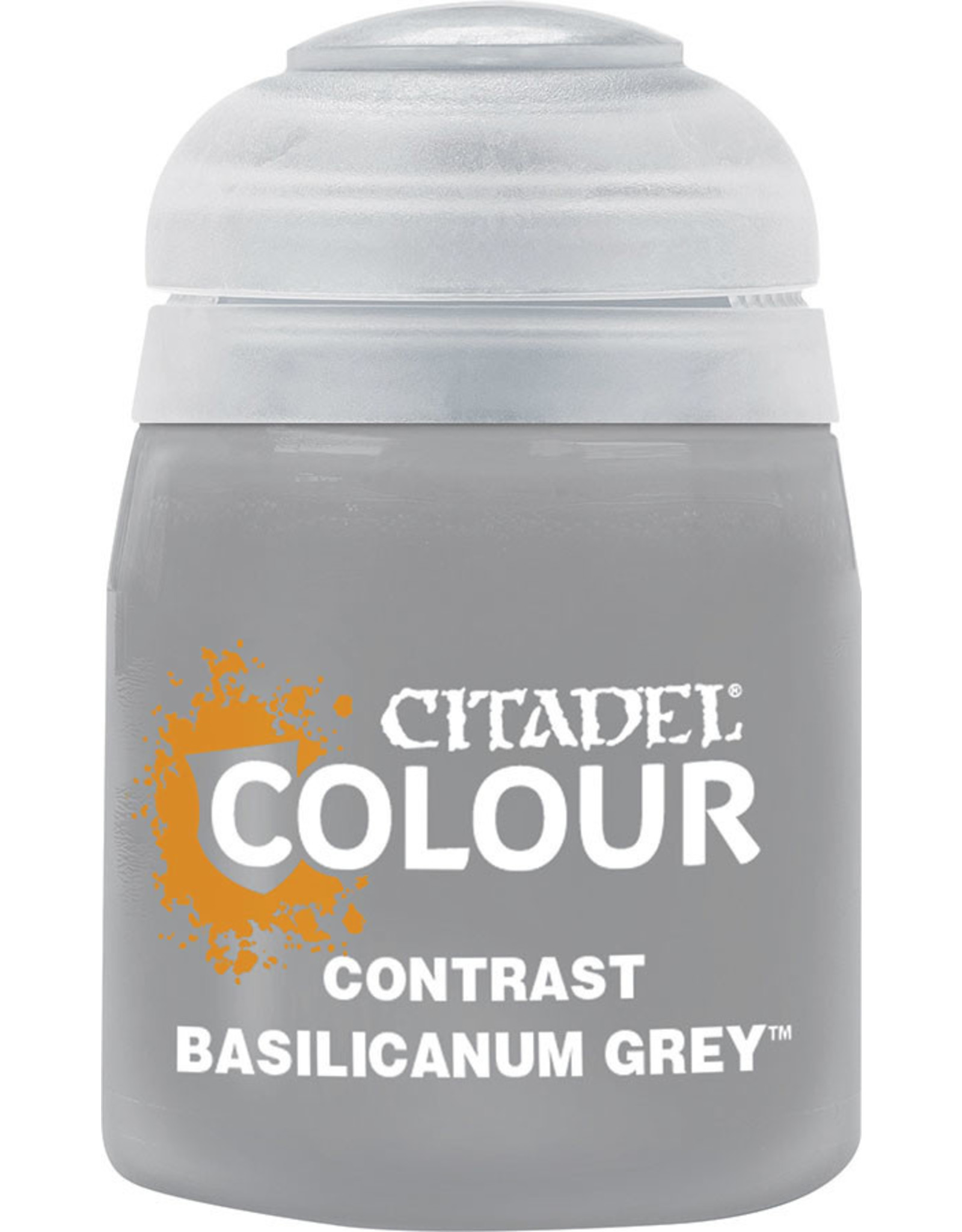 Games Workshop CONTRAST: BASILICANUM GREY (18ML)