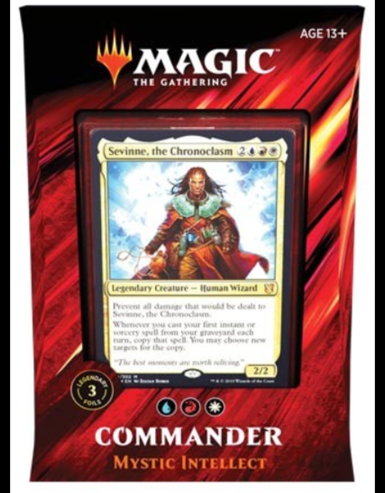 Wizards of the Coast Magic: Commander 2019 Deck: v2 Mystic Intellect (Jeskai Flashback)
