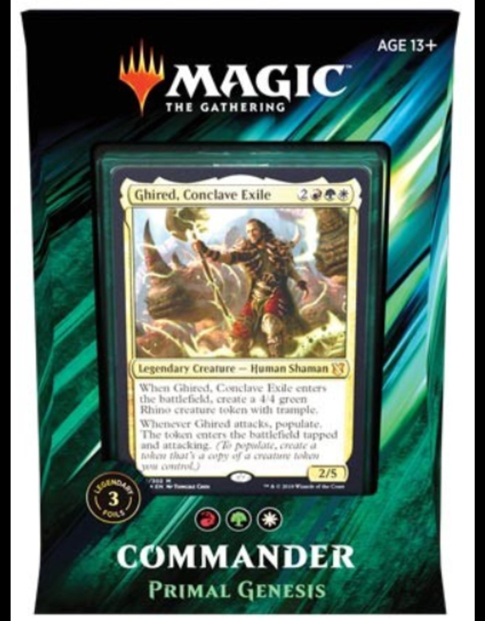 Wizards of the Coast Magic: Commander 2019 Deck: v3 Primal Genesis (Naya Populate)